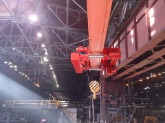 Hoist GHF 16000, incl. Inverter control, for a jib crane, Kazakhstan