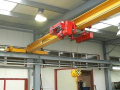 Single girder bridge cranes, 01