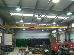 Single girder bridge cranes, 02