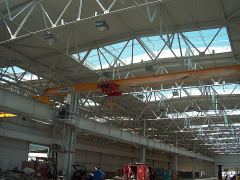Single girder bridge cranes, 08