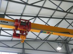 Single girder bridge cranes, 18