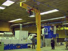 Slewing jib cranes GIGA - GSOJ 1t:3,25m