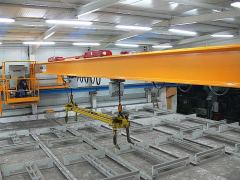 Bridge cranes of GIGA - double girder bridge crane GDMJ 3,2t+3,2:14m