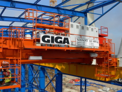 Bridge cranes of GIGA with a capacity of 125t a 165t for electric plant Počerady, 3