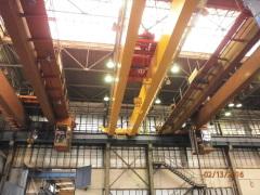 Bridge crane GDMJ 50t-20t-22,5m_1