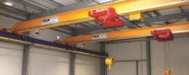 Article in Technika a Trh magazine - Crane of GIGA for SOLARCO Machinery Company