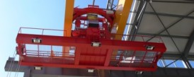 Delivery of a bridge crane with a capacity of 50t with a rotary hoist for ELTRAF, a.s.
