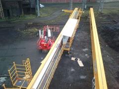 Mounting of bridge crane GDMJ 10t, 35m