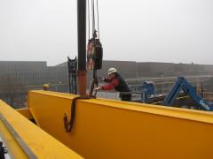 Mounting of bridge crane GDMJ 10t, 35m, Viadrus