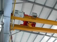 Mounting of bridge cranes v ELTRAF, sro