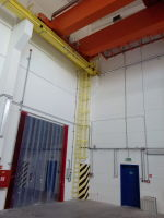 Bridge crane GDMJ 35t-5t-16,5m after mounting, Electric plant Ledvice