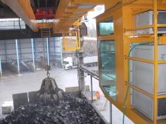 Mostový jeřáb GDMJ 8t/16,5m s kabinou a drapákem pro KOVOHUTĚ Příbram_7