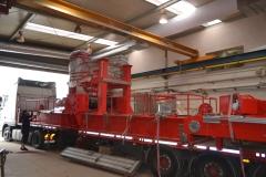 Loading of crane GDMJ 50t-15,4m