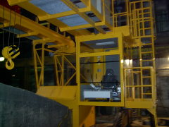 Bridge crane GDMJ 3,2 m, after mounting