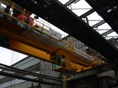 Commissioning of bridge crane GDMJ 10t-35m, Viadrus
