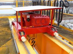 Electric wire-rope hoists GIGA - crab GHM, outdoor, with a shelter
