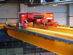 Electric wire-rope hoists GIGA - crab electric wire-rope hoist