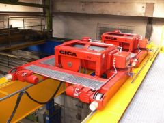 Hoists GIGA - crab electric wire-rope hoist of GHM series