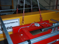 Production and dispatch of bridge crane for Okulovka, Russia