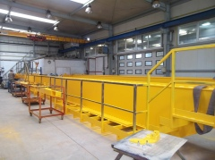 Production of cranes GDMJ 40t-16,73m and GJMJ 4,9t-15,285m