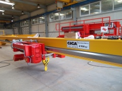 Production of cranes GDMJ 40t, 16,73m and GJMJ 4,9t, 15,285m