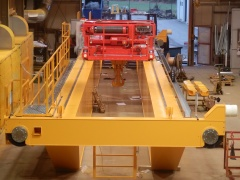 Production of bridge crane GDMJ 50t-20t-22,5m_5