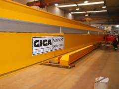 Production of bridge crane GJMJ 1,8t+1,8t-27,5m