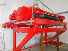 Production of cantilever hoists for SSI Schafer