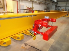 Production of bridge crane for SSI Schafer