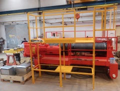 Preparation of winch 80t to dispatch