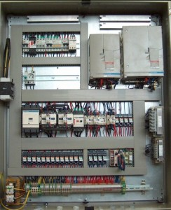 Bridge cranes and components of GIGA - Electric switchboards