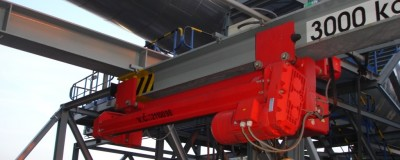 Hoists for a new plant for desulphurization  in Slovnaft Bratislava, Slovakia