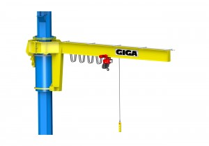Column-Mounted jib cranes