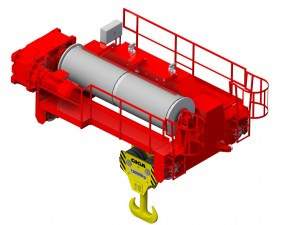 Open Type Crab Trolleys (Open Winches)