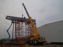 Gantry crane GPMJ 40t/11,5 m, preliminary mounting