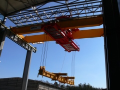 Double girder bridge crane GDMJ - 50t, 15,4 m
