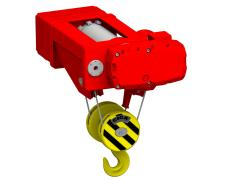 Electric wire-rope hoist stationary, type GHM 5000-20-4/1-6M,S