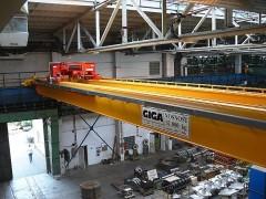 Double girder bridge cranes, 13