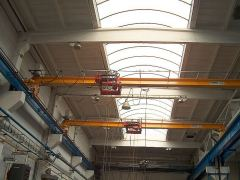 Single girder bridge cranes, 05