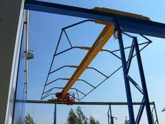 Single girder bridge cranes, 09