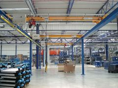 Single girder bridge cranes, 10