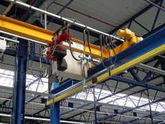 Single girder bridge cranes, 11