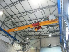 Single girder bridge cranes, 16