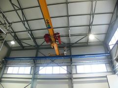 Single girder bridge cranes, 17