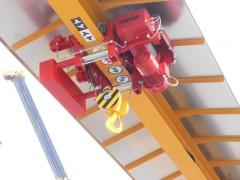 GPMJ 8t:13m outdoor gantry crane, Montáže Přerov, 2012, shelter