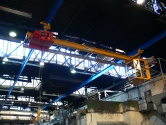 Underhung foundry crane GPMJ 5t-9m with a cabin_4450-15_3