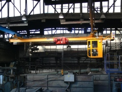 Underhung foundry crane GPMJ 5t-9m with a cabin_4450-15_5