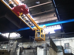 Underhung foundry crane GPMJ 5t-9m with a cabin_4450-15_6