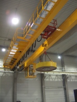 Crane GDMJ 10t-28,55m with a magnet and movable cabin_1875-04_KAJIMA_7