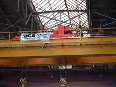 Bridge crane GDMJ 50t-20t-22,5m_2